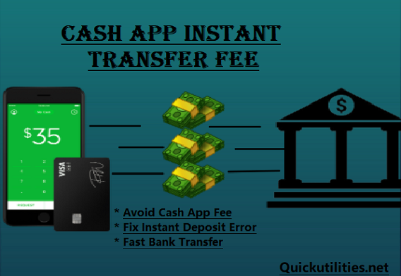 Cash App Instant Transfer Fee? Fix Cash App Instant Deposit Issues