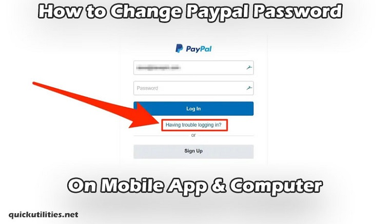 How to Change Paypal Password on Mobile App & Computer