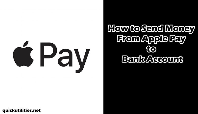 How to Send Money From Apple Pay to Bank Account