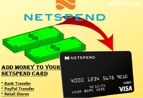 How to Add Money to Netspend Card? Load Your Netspend Card