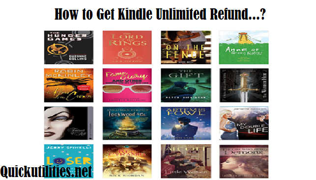How To Cancel Kindle Unlimited Subscription l Get Kindle Refund
